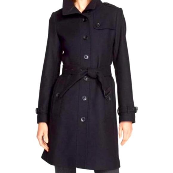 Burberry Brit black Rushfield Wool Coat